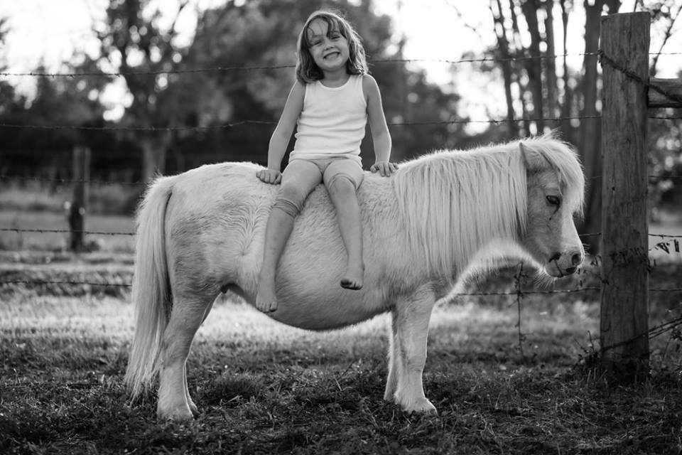 Camryn On Pony